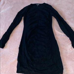Long sleeve little black dress